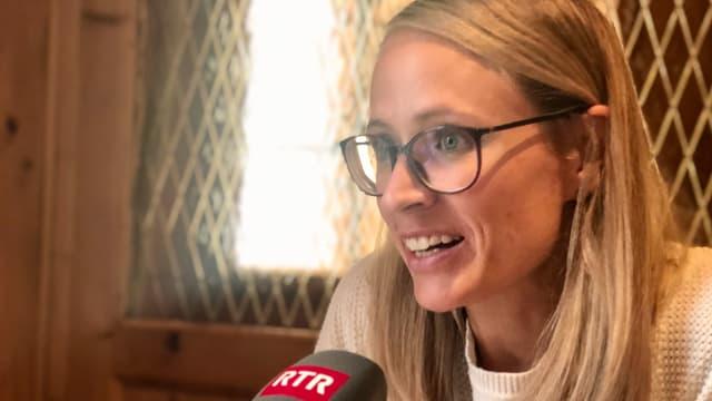 Tamara Wolf avant emprima cursa a Sölden