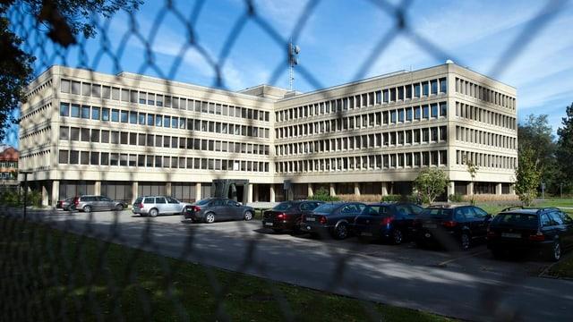 Das Gebäude des VBS.