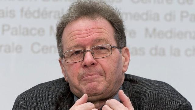 Portrait von Heiner Studer.
