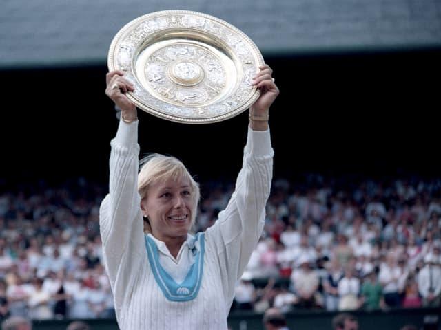 Ehemalige Tennisspielerin.