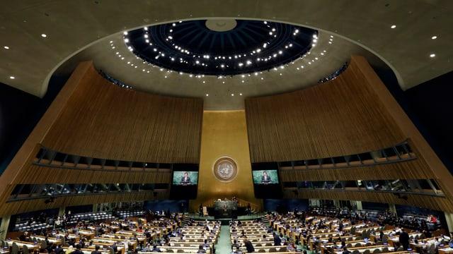 Die UNO-Generalversammlung in New York (Archivbild).