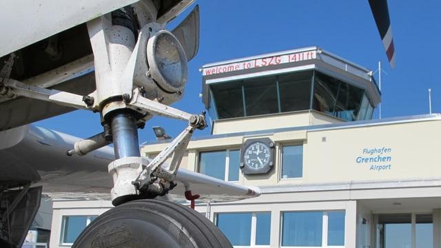 Der Tower am Flughafen Grenchen