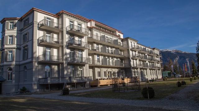 Hotel Waldhaus suenter la renovaziun.