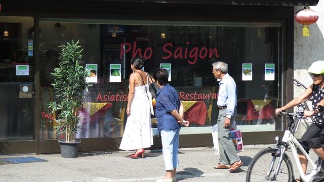 Das Restaurant Pho Saigon.