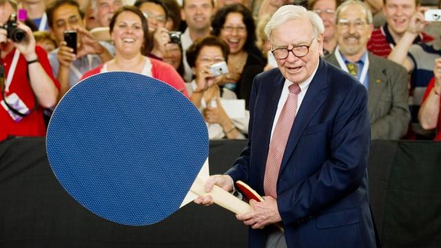 Investor Warren Buffett: Wenn er etwas anrührt, dann mit der grossen Kelle.