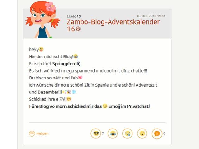 Blog Springpferdli