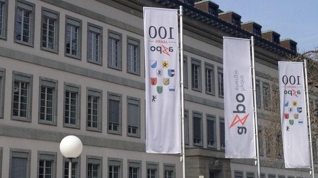 Axpo-Hauptsitz in Baden.