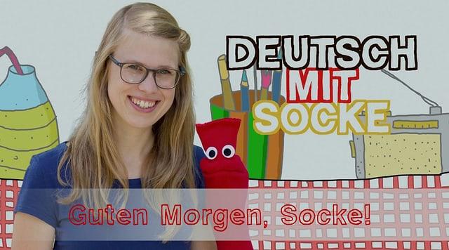 Video «Deutsch mit Socke: Guten Morgen, Socke! (15/35)» abspielen
