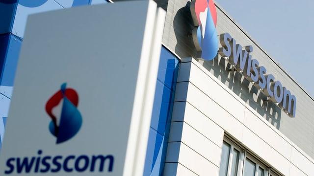 Purtret d'in logo da la Swisscom.