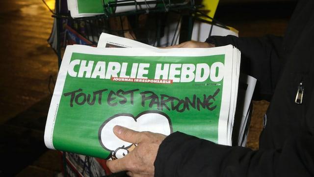 Ausgabe von Charlie Hebdo vom 14. Januar 2015