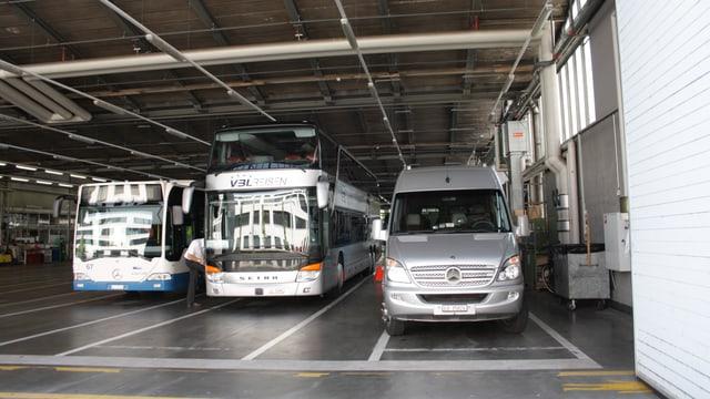 vbl-Depot mit Bus