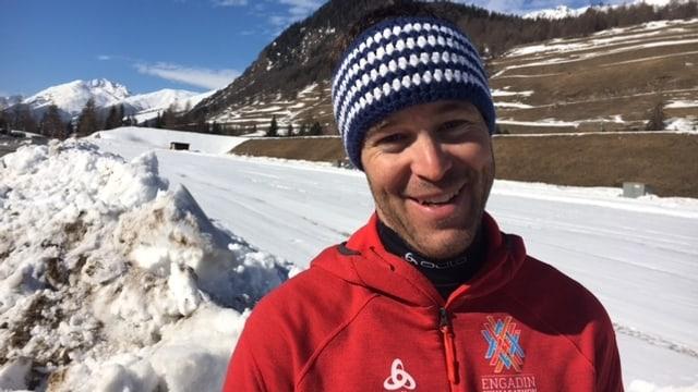 Thomas Pinchera, il schef arrivada Maraton da skis engiadinais.