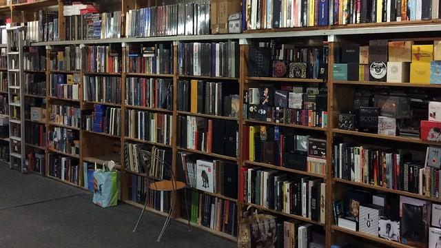 Büchersammlung im «Zero Zero»