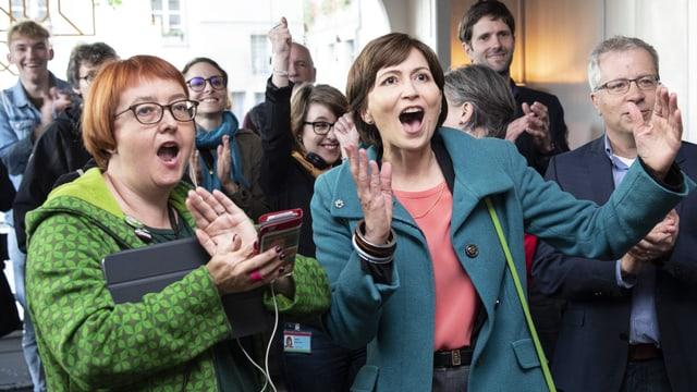 Umweltparteien gewinnen viele Sitze im Parlament