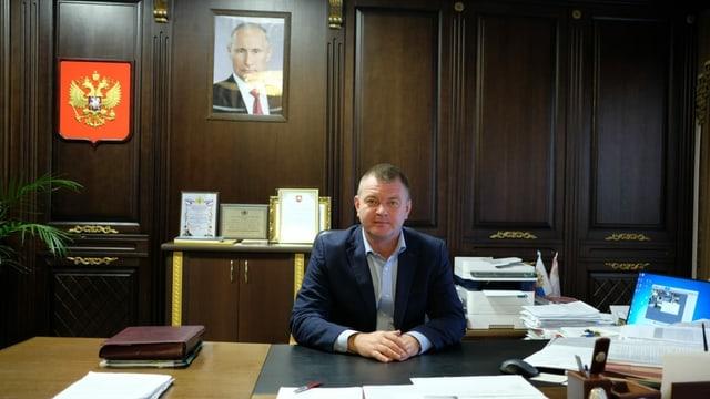 Bürgermeister Sergej Borosdin.