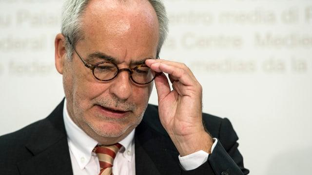 Otfried Jarren, Präsident der Eidgenössischen Medienkommission Emek.