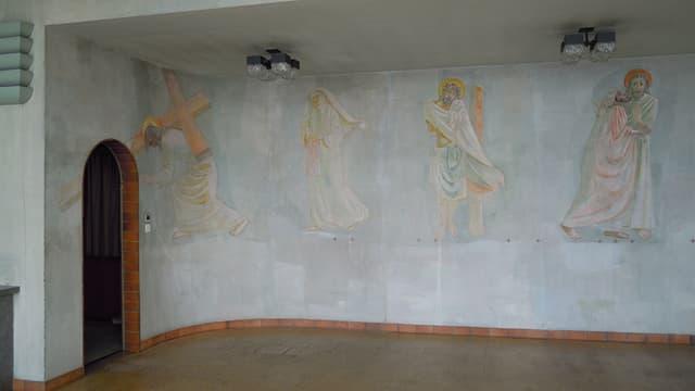 Die Jesusbilder in der Spital-Kapelle