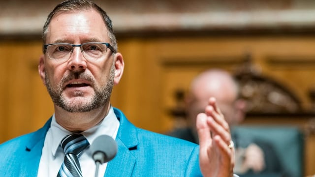 Der Zürcher FDP-Nationalrat Hans-Peter Portmann