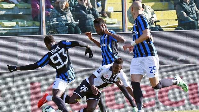 FC Parma Spieler in Aktion