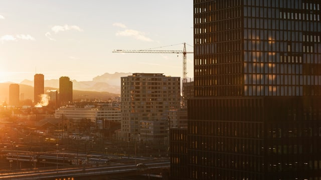 Hochhäuser in Zürich