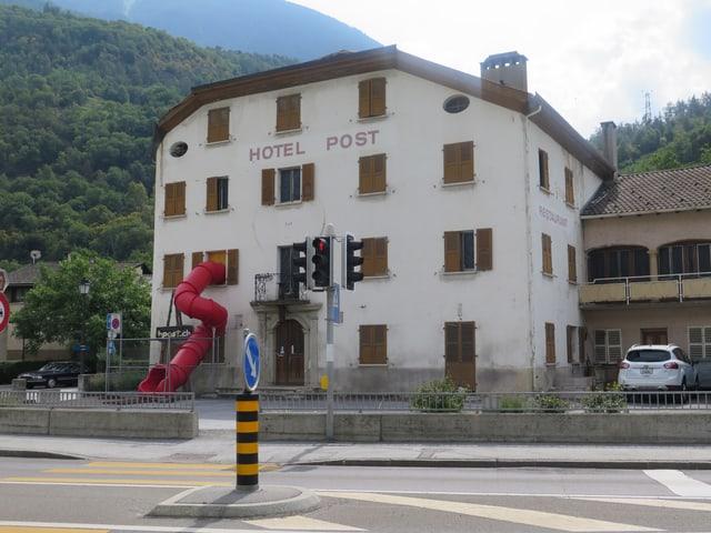 Hotel Post in Turtmann.