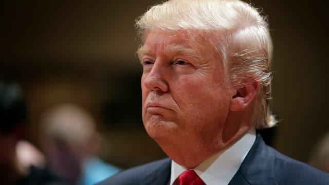 Portrait da Trump.