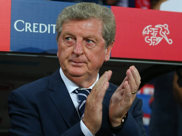 Roy Hodgson beim letzten Aufeinandertreffen in Basel.