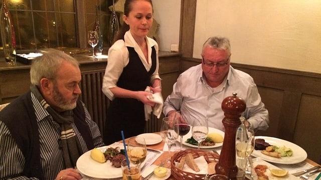 Roland Lei in einem seiner Lieblingsrestaurants dem «China-Club»