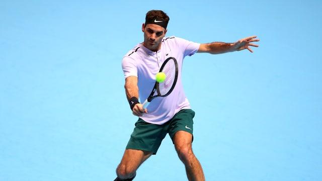 Il giugader da tennis Roger Federer