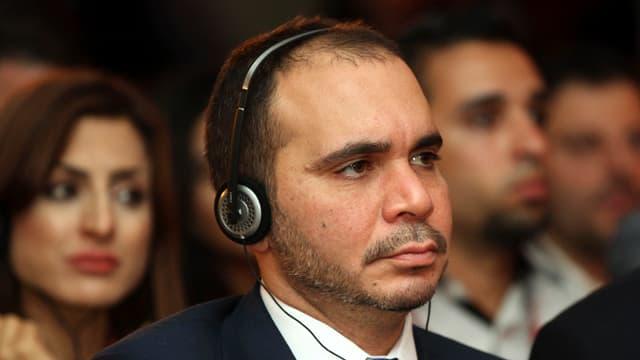 Il prinzi Ali bin al-Hussein, vicepresident da la FIFA.