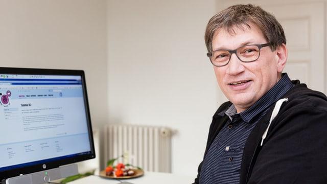 Stefan von Wartburg vom «Sorgentelefon»