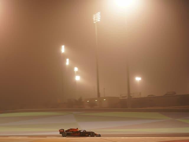 Max Verstappen im Training in Bahrain.