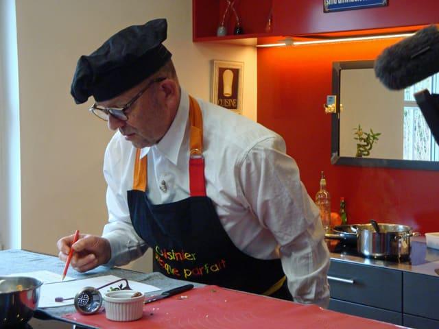 Cuisinier Hans: Presque parfaît.