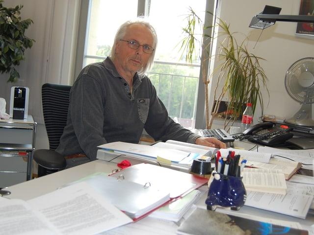Rolf Mühlemann, stv. Abteilungsleiter und Jurist im Amt für Gemeinden und Raumordnung