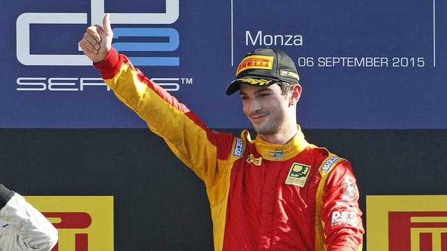 Alexander Rossi.