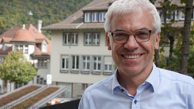 Portraitaufnahme von Urs Kaufmann