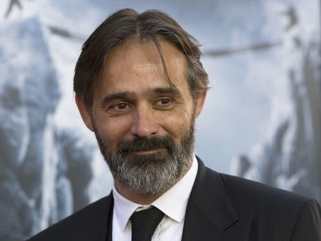 Regisseur Baltasar Kormákur anlässlich der Filmpremiere von «Everest» in Venedig.