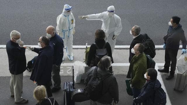 Die Experten der WHO sind in Wuhan angekommen.