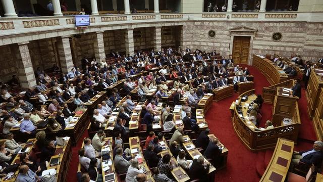 La fracziun «Unitad dal pievel» daventa uschia la terz ferma forza en il parlament grec.