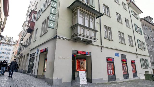 Eingang zum ehemaligen Sexkino Stüssihof