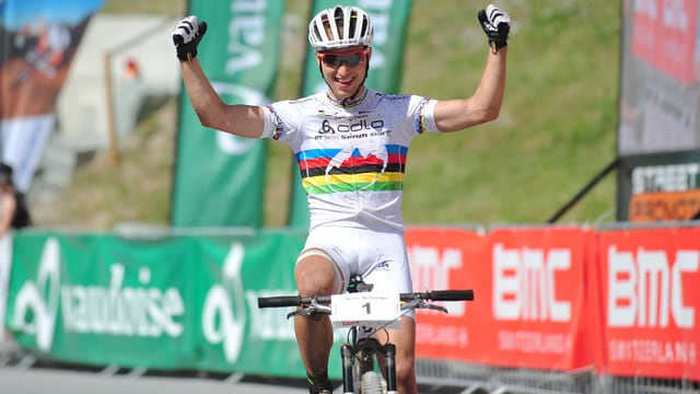 Cross-Country-Weltmeister Nino Schurter.