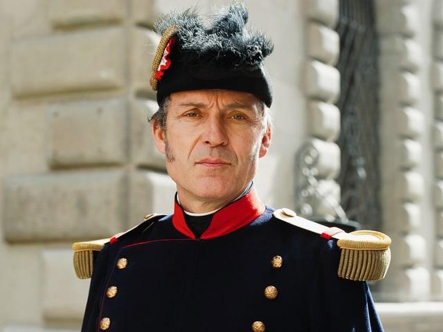 Michel Voïta als General Guillaume Henri Dufour