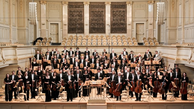 Das Berner Symphonieorchester im Kulturcasino Bern.