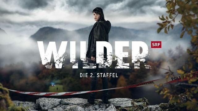 Rosa Wilder steht hinter dem Serienlogo