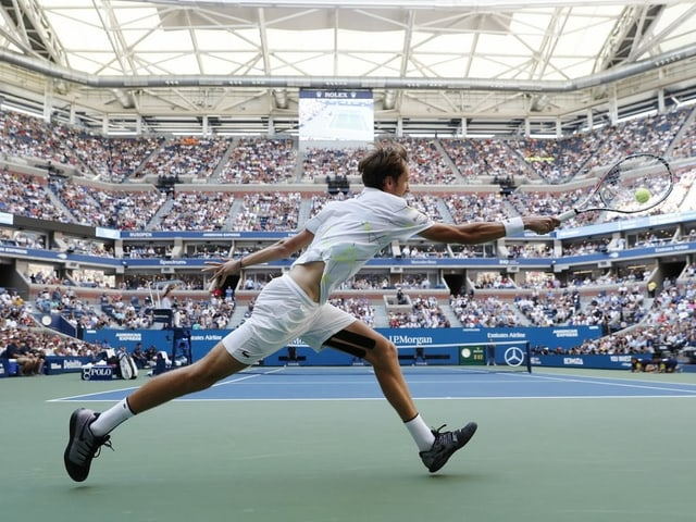 Die Tennis-Tempel in New York werden 2020 leer bleiben.