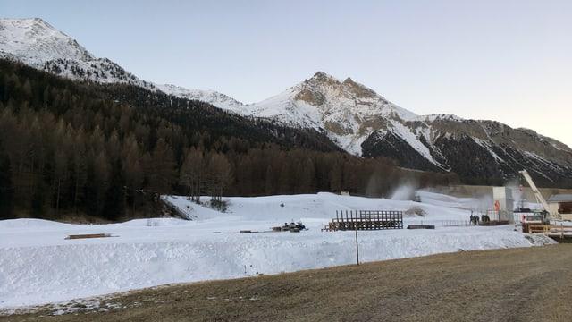 Il Tour de ski vegn preparà.
