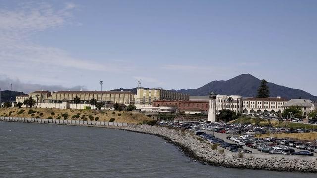 Das Gefängnis San Quentin im US-Bundesstaat Kalifornien.