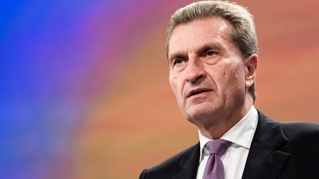 Porträt Oettinger