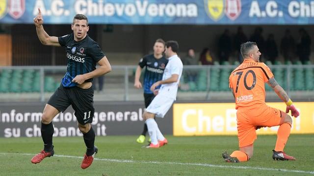 Remo Freuler erzielte gegen Chievo ein Tor und bereitete ein weiteres vor.