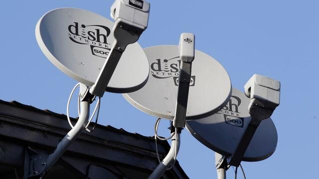Dish-Satellitenschüsseln